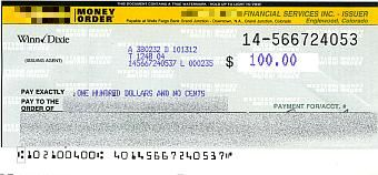 money order how to fill
